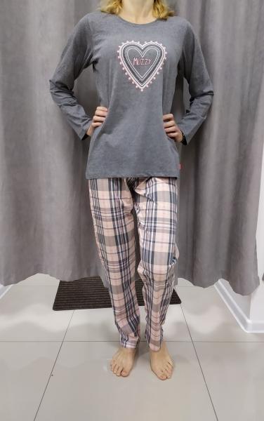 Sivo-ružové pyžamo BEATRICE
