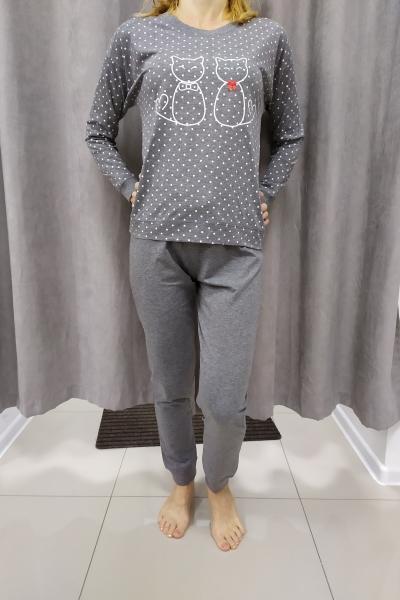 Sivé pyžamo KAMILA