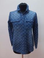 Rifľová košeľa bodková