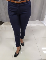 Modré nohavice EVA