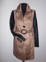 Plášť 2 - hnedý